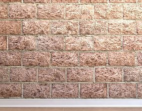 3D model realtime Stone cladding Stone 030