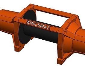 3D Winchmax Winch 17500lb 24v
