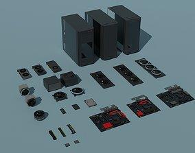 3D model Computer Parts
