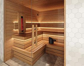 infrared Infrared sauna 3D model