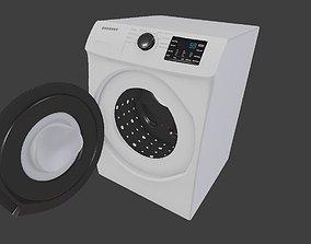 washing machine home appliance 3D