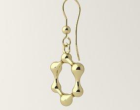 3D print model Molecule earrings