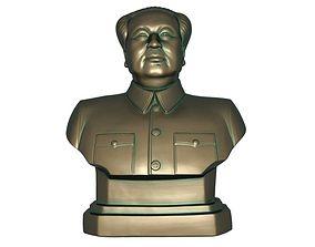 3D asset game-ready art Chairman Mao