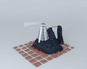 Forgotten Island Lighthouse 3D