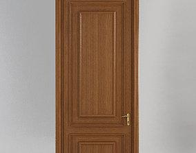 casing 3D model Wooden Door