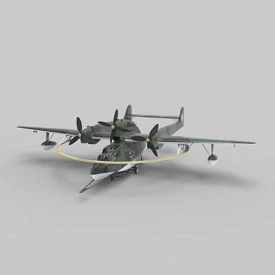 German Aircraft BV 138 MS - Minesweeping