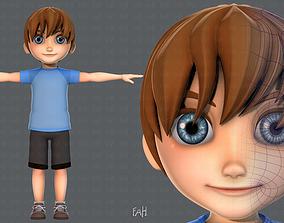 3D model Boy character