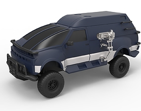 Diecast model RV from Hell from Tango and Cash Scale 1 to