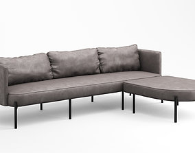 3D Zuster Contour L-shaped Lounge sofa Con611