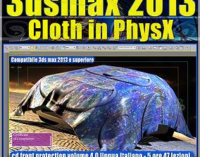 animated 3dsmax 2013 Cloth in PhysX v 4 Italiano cd