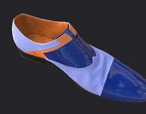 Elegant shoe 3D asset