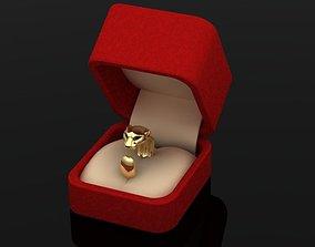 3D print model amur pantere ring