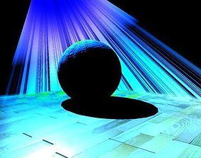 3D model Spot light sample scene