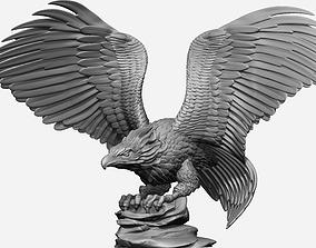 Eagle Bust Full Model Ready For 3D Print