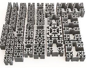 3D Profile aluminium 03