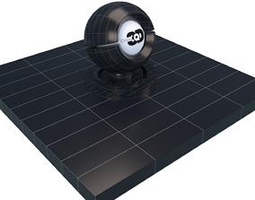 3D model Navy wall tiles