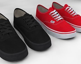 3D model Vans Authentic Classic