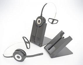 3D Wireless Professional Headset