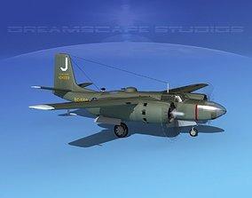 Douglas B-26C Invader V06 USAF 3D