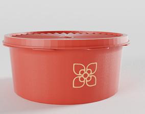 case Tupperware Storage Container 3D model