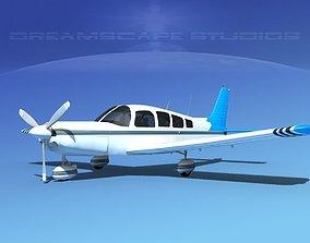 3D model Piper Cherokee Six 300 V11