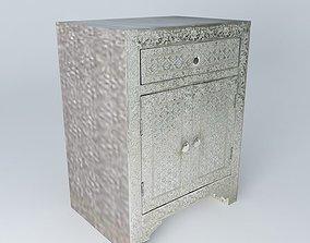 JAIPUR nightstand houses the world 3D