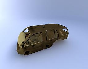 3D 1999 Nissan Pathfinder Interior
