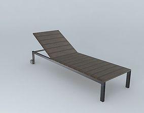 gray halter ESCALE houses the world 3D model