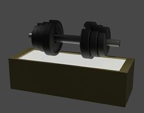 Adjustable Dumbbell 3D