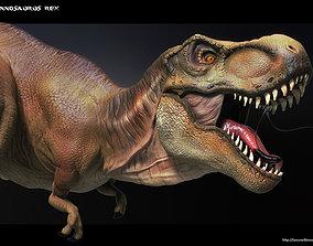 High Poly T-Rex Ztool 3D