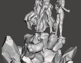 Mar-Vell and Adam Warlock 3D printable model