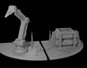 Refuelling Station for Big Platform 3D printable model