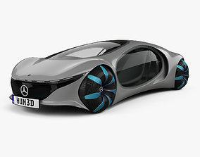 3D Mercedes-Benz Vision AVTR 2020