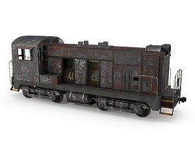 Abandoned Train 3D