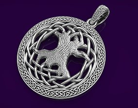 3D print model Pendant Celtic Tree of Life