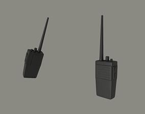 Walkie Talkie speaker 3D