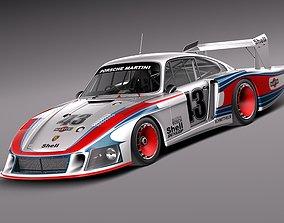Porsche 935-78 MobyDick 3D model fast