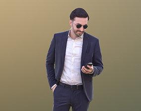 Anselmo 10226 - Standing Business Man 3D model