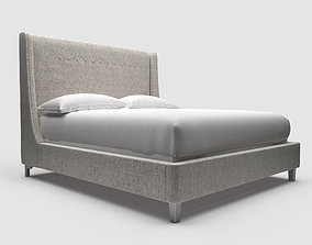 3D Universal Furniture Midnight Queen Bed