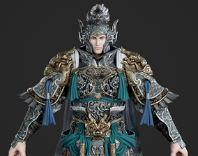 3D model Generals of the Three Kingdoms in ancient China 2