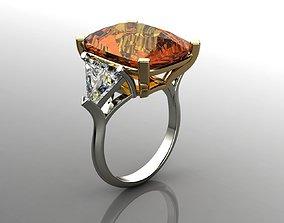 Diamonds Ring rings 3D print model