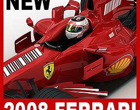 F1 2008 Ferrari F2008 3D model