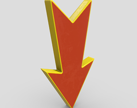 3D asset game-ready Arrow