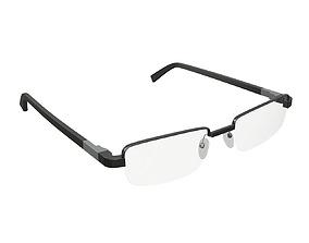 3D model PBR Reading glasses 02