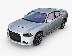 3D Dodge Charger SRT8