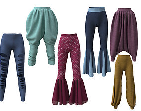 3D collection 6 pants