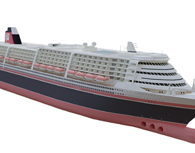 RMS Poseidon 3D model