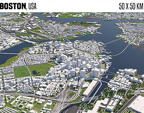 Boston 3D model
