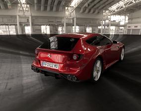 3D model Ferrari FF Exterior