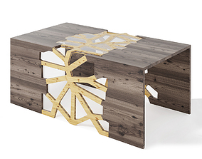 Geometrical Branching Coffee Table 3D model